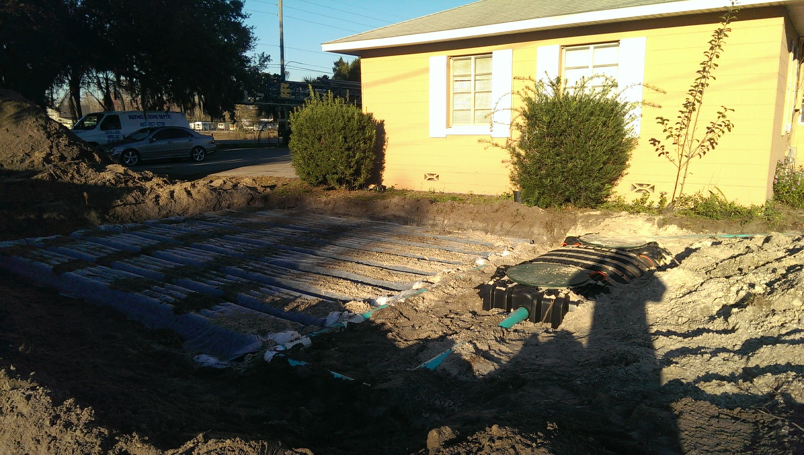 residential septic tank repair
