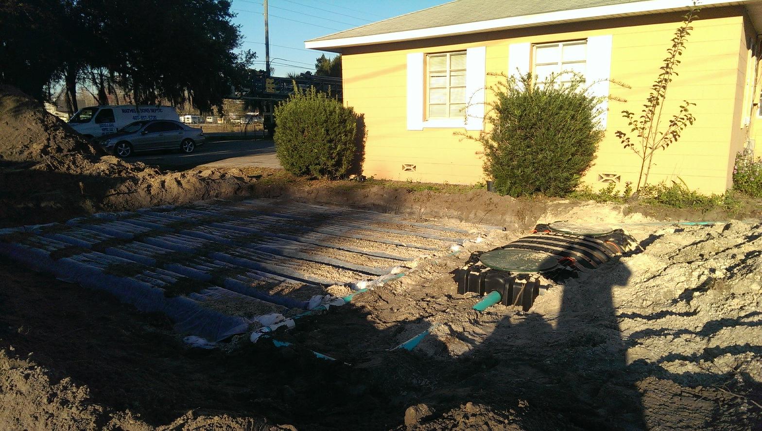 residential septic tank repair