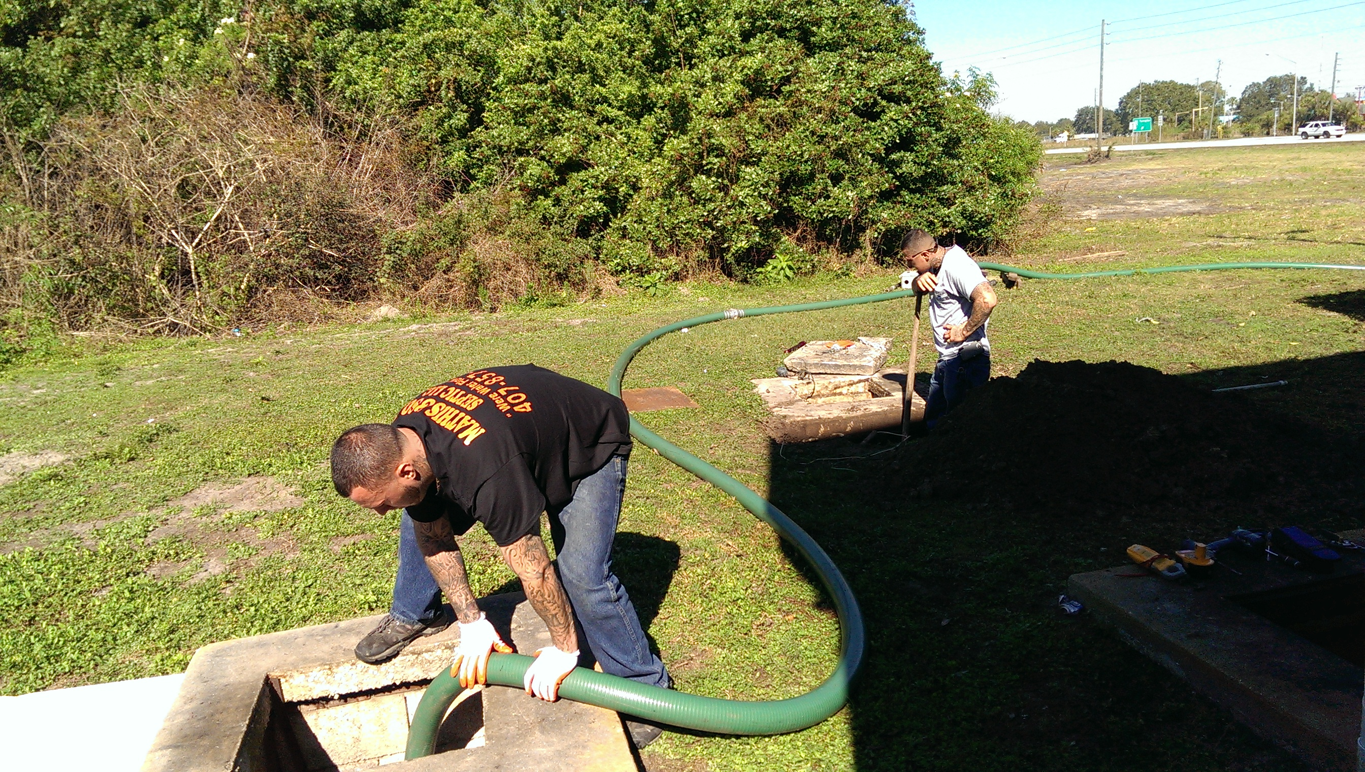 Residential Septic Tank Cleaning in Orlando, FL